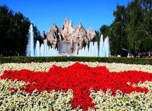 加拿大奇幻乐园旅游景点攻略图