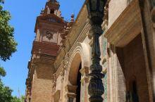 塞维利亚西班牙广场