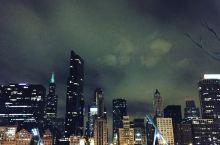 芝加哥千禧公园夜景
