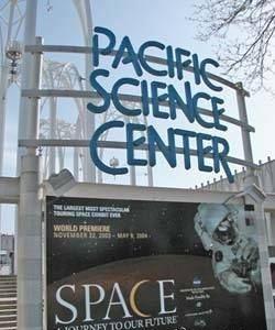 太平洋科学中心旅游景点攻略图