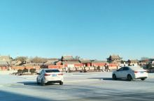 冬日里的锡林郭勒大草原
