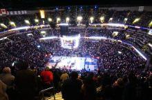 第一次看NBA:田纳西孟菲斯联邦快递球馆