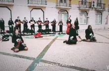 #嗨翻小长假#葡萄牙里斯本罗西奥----欧式广场舞