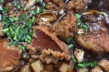 山西临汾的酥肉面
