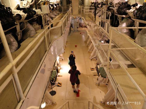NYK Hikawamaru Exhibits