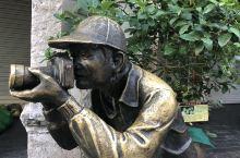 北海老街的雕塑 一一你是我眼中的风景