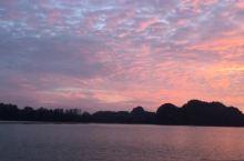 兰卡威神秘小路夕阳