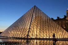 夜色卢浮宫