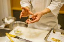 日本怀石料理—现场手工制作