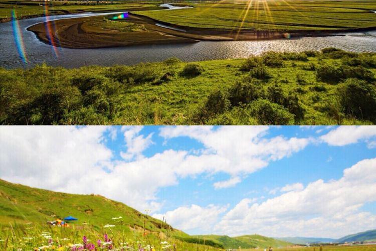 俄麼塘花海景區3