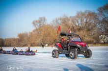 冬天的北方刺激好玩!雪上飞摩让你心跳加速