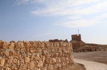 """#元旦去哪玩#以色列的死海边居然还有一个""""以色列长城"""""""