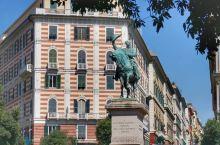 热那亚的历史老城