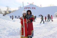 当冰雪遇上蒙古民族服装