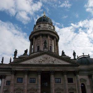 柏林德国教堂旅游景点攻略图