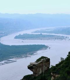 [榆林游记图片] 黄河两岸是晋陕