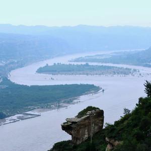 榆林游记图文-黄河两岸是晋陕