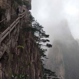 百步云梯旅游景点攻略图