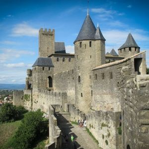 卡尔卡松城堡旅游景点攻略图