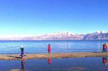 新藏线最令人搞不懂的湖泊,湖一半咸水一半淡水,让人弄不清原委