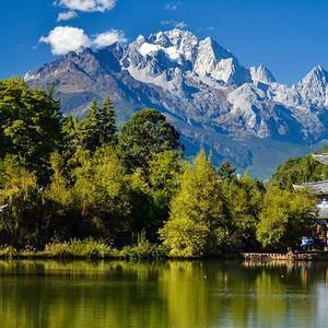 束河古镇游记图文-丽江:人文情怀与自然景观完美融合的人间天堂