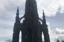 Scott monument, royal miles