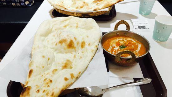Indian curry dining Cobara-Hetta Aeon Mall Kyoto