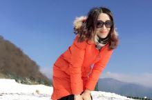 蓝天白云滑雪⛷