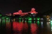 流光溢彩桂林夜