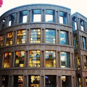 温哥华公共图书馆主馆旅游景点攻略图