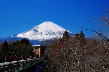近距离接触富士山