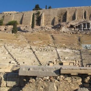 狄俄倪索斯剧场旅游景点攻略图