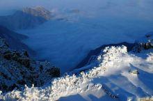 雪后太白山
