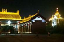 渭南韩城文庙夜景之六