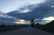 天黑前的美景