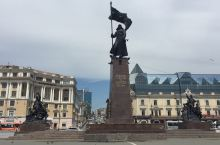 海参崴市中心广场