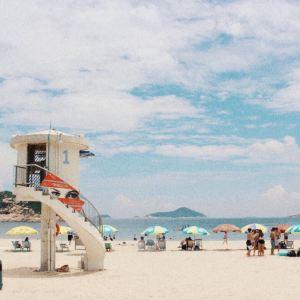 龟背湾海滩旅游景点攻略图