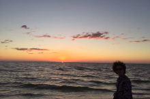 美国佛罗里达墨西哥湾的日出