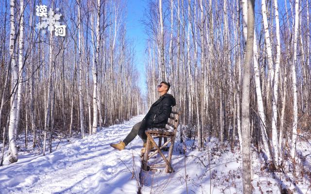 漠河的雪,混着泥土芬芳的森林气息