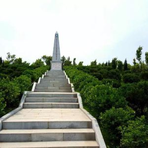 影珠山抗战遗址公园旅游景点攻略图