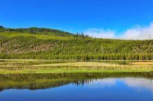 湖光山色弄清影 美国黄石公园容易被忽略的美景