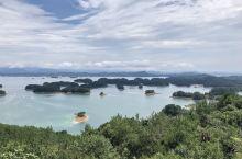 暴雨下的千岛湖,一日三景