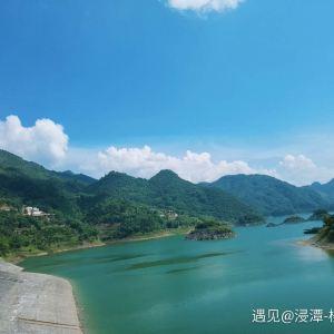 桃花湖旅游景点攻略图