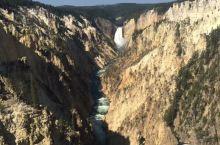 黄石公园散记之二——黄石大峡谷的瀑布