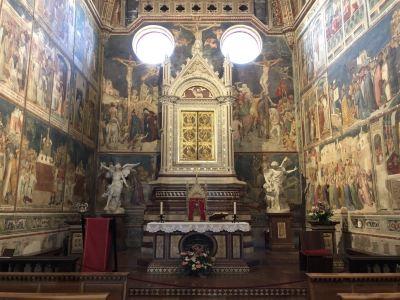 The Church of Santa María La Real de La Corte