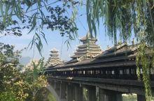 #瓜分10000元#三江风雨桥