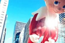 撼动纽约曼哈顿!全球最大感恩节庆典,巨型气球、壮观花车、百万游客齐上街头…