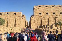 卡纳克神庙位于埃及城市卢克索北部