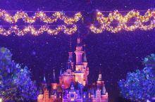 上海终于迎来了第一场雪,就在上海迪士尼!❄️