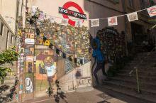 马赛篓筐老城涂鸦